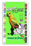 Madeira Smart Box Rayon 1000m 18Farben